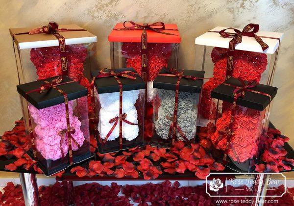 mis z róż prezent na walentynki